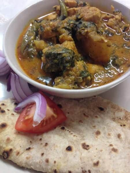 Punjabi Chicken & Spinach Curry Recipe