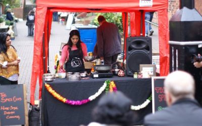 Indian Cookery Demo @ Middlewich Makers Market